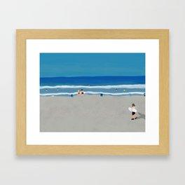 summer california Framed Art Print