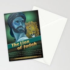 The Lion Of Judah 1 Stationery Cards