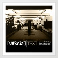 library Art Prints featuring Library by Phil Perkins
