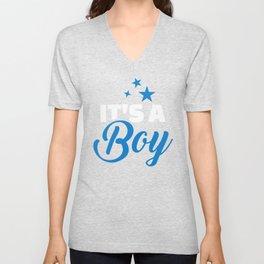 Baby Boy Unisex V-Neck