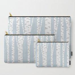 Minimalist Birch Trees by Amanda Laurel Atkins Carry-All Pouch