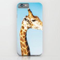 Portrait of a Giraffe iPhone 6s Slim Case