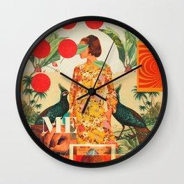 Please Trust Me Wall Clock