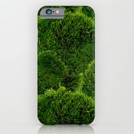 Moss - Green Luscious Mossy Texture - Full on Natural Moss Mounds- Earthy Greens -Turning Moss Green iPhone Case