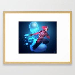 Netrunner - En Passant Framed Art Print