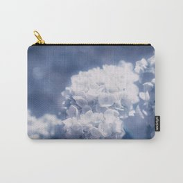 Grace and Beauty Defined a blue Hydrangea flower Carry-All Pouch