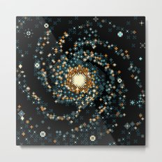 Pinwheel Galaxy M101 (8bit) Metal Print