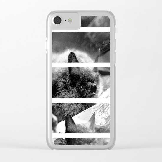 Bats Clear iPhone Case