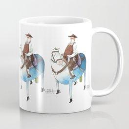 Numero 8 -Cosi che cavalcano Cose - Things that ride Things- SERIE ARGENTO - SILVER SERIES Coffee Mug