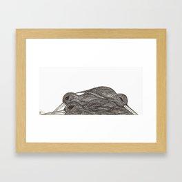 Lay Framed Art Print