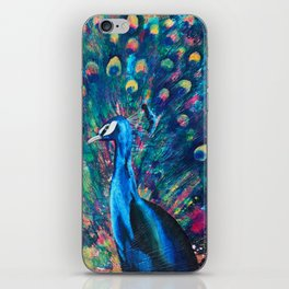 Psychedelic Peacock iPhone Skin