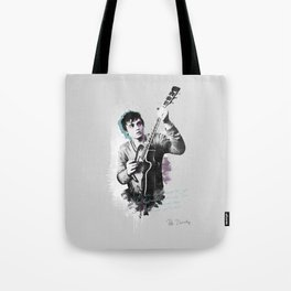 Pete Doherty A little Death Around The Eyes Tote Bag