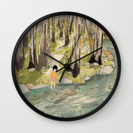 By The Creek Wall Clock