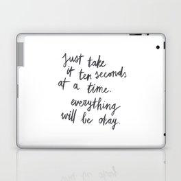 Ten Seconds At A Time Laptop & iPad Skin