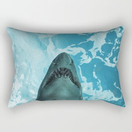 Shark Photography | Deep Sea | Ocean Art | Wildlife | Nature | Fish Rectangular Pillow