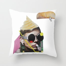 Talk Throw Pillow