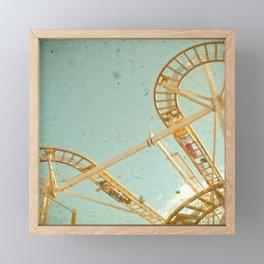 Tracks Framed Mini Art Print