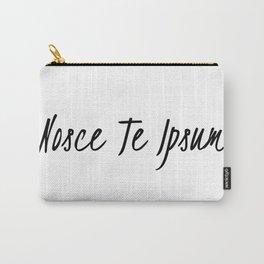 Know thyself-nosce te ipsum Carry-All Pouch