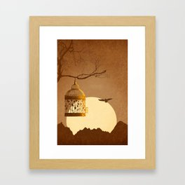 Freedom From The Golden Cage Framed Art Print