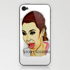 Kim ugly crying iPhone & iPod Skin
