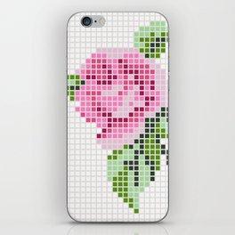 Shabby Chic Pink Rose iPhone Skin