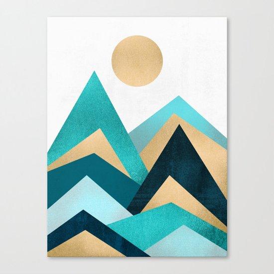 Waves / Version 2 Canvas Print