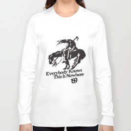 Neil Young And Crazy Horse Rock End Of The Trail Horse T-Shirts Long Sleeve T-shirt