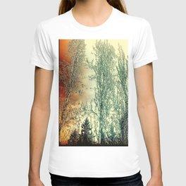 Autumn Poplars, Sunlight Dreaming About You T-shirt