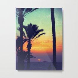 Ibiza Sunrise Metal Print