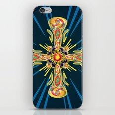 Jewelry cross iPhone & iPod Skin