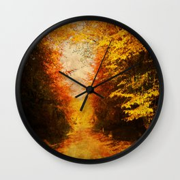 Study in Light and Shade. Wall Clock
