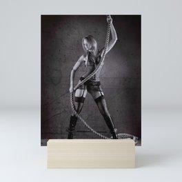 Lingerie and Rope Mini Art Print