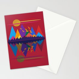 Mountain Scene #9 Stationery Cards