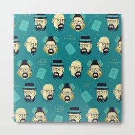 heisenberg pattern Metal Print