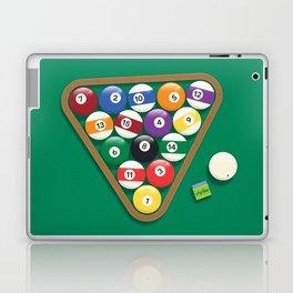 Billiard Balls Rack - Boules de billard Laptop & iPad Skin