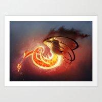 Sphere Creature #138 Art Print
