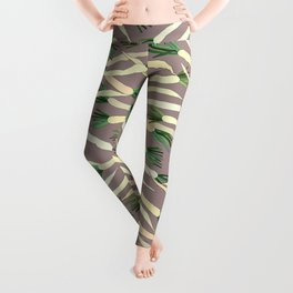 Daikon Radish Carrot Roots Leggings