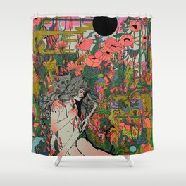 I Love You to Death Shower Curtain