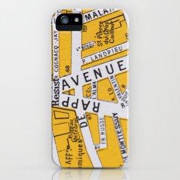 Paris Streets 3 iPhone Case