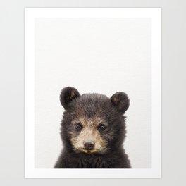 Baby Bear, Baby Animals Art Print By Synplus Art Print