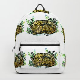 Snow panther of china Backpack