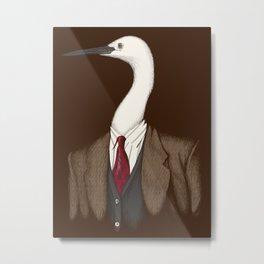 Crane Clothier Co. (no text) Metal Print