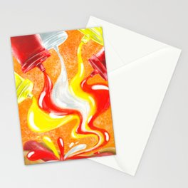 The Sauces Stationery Cards