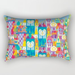 It's A Small World - Theme Park Inspired Rectangular Pillow
