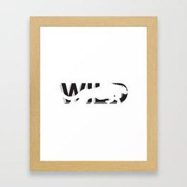 wild:hidden #2 Framed Art Print
