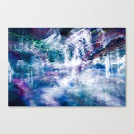 Whirlwind of colors Canvas Print