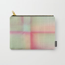 """Sherbert"" pastel Colored Abstract Design Carry-All Pouch"
