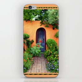 Garden Delights, Mesilla, NM iPhone Skin