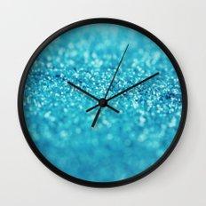 Blueberry Tart Wall Clock