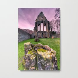 Valley of The Cross Metal Print